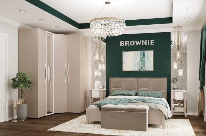 Модульная мебель в спальню Brownie
